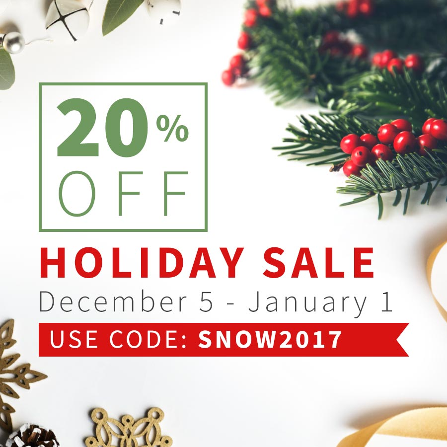 2017 Holiday Sale