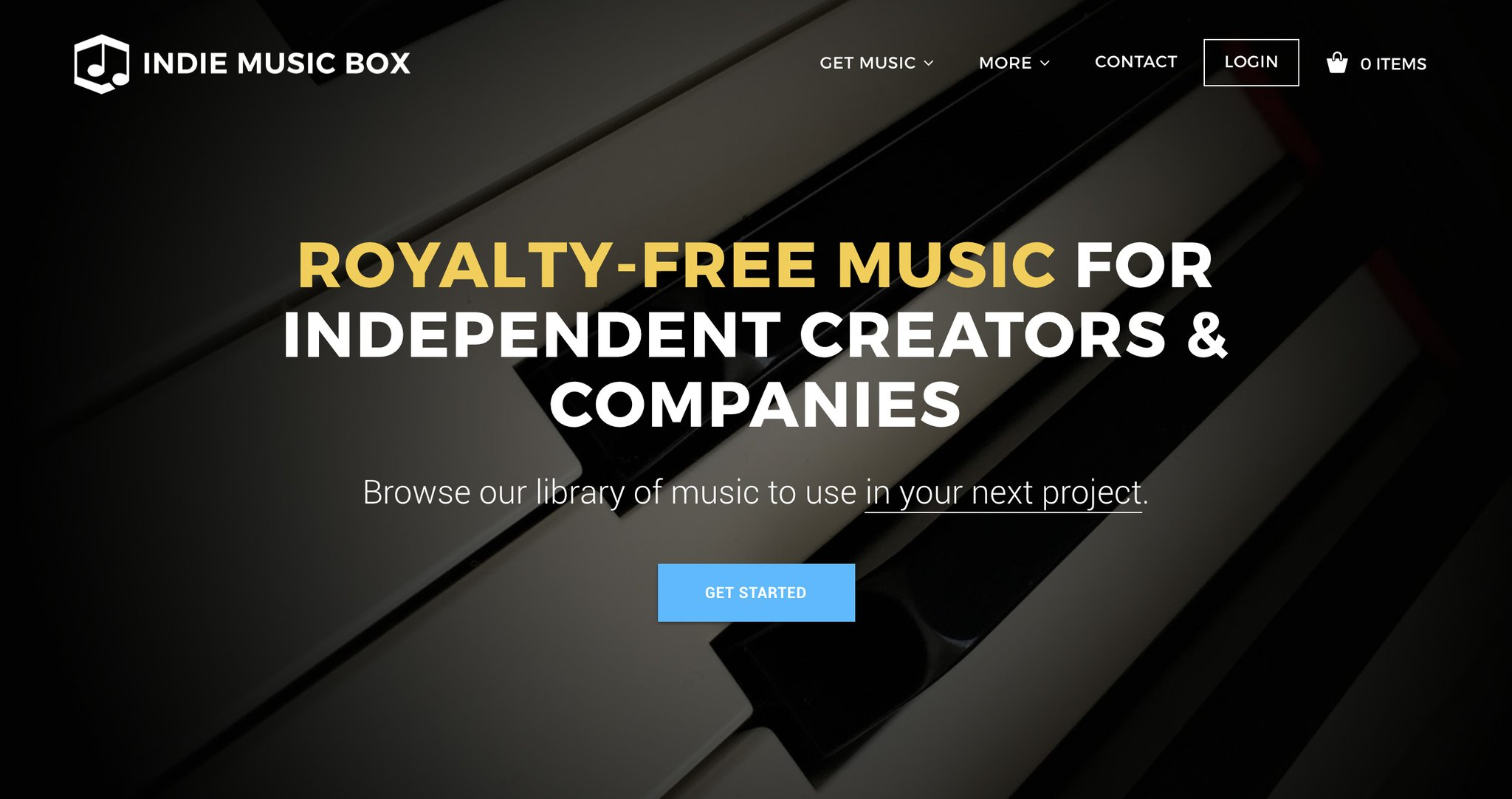 Royalty-Free Music Archives - Indie Music Box