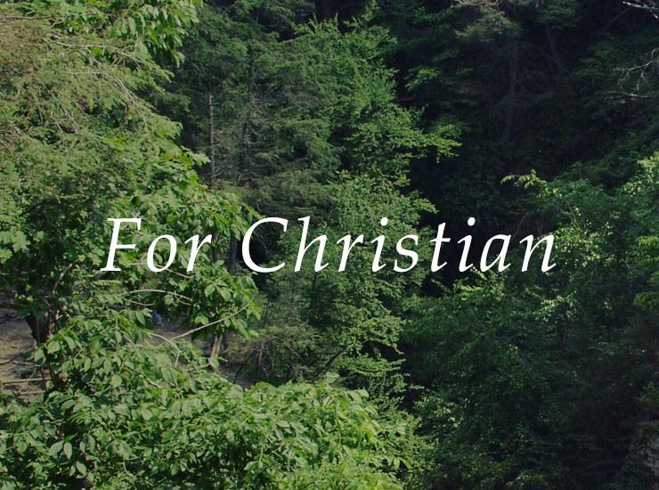 For Christian