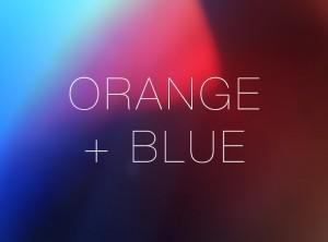 Orange + Blue