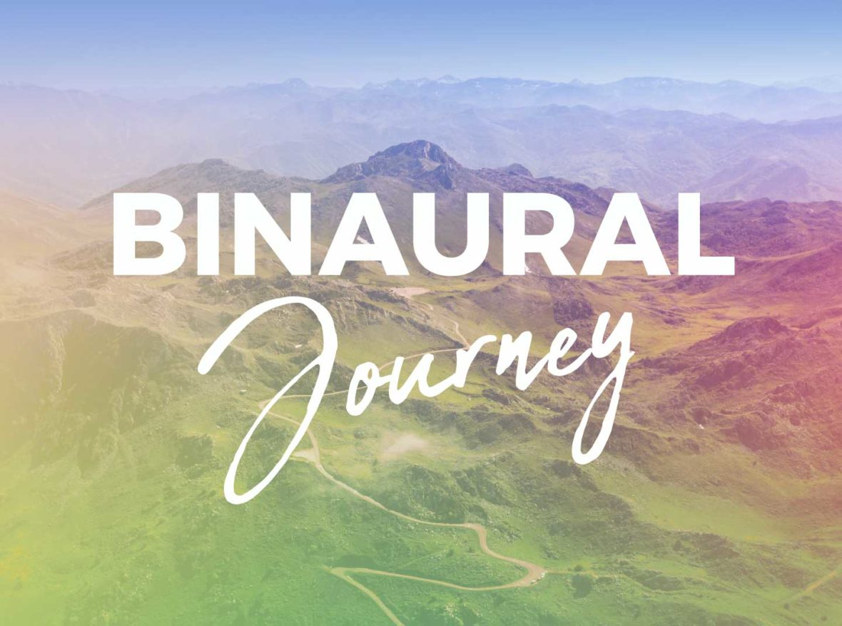 Binaural Journey - Delta / Theta / Alpha / Beta / Gamma Wave Music
